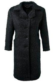 Soft Textured Wool Coat