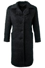 Soft Textured Wool Coat