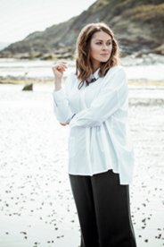 Eco Cotton Covered Placket Tunic