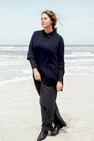 V-Neck Pocket Organic Cotton Tunic