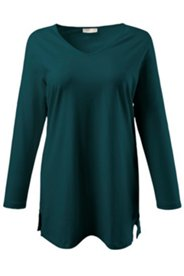 Eco Cotton V-neck Tunic