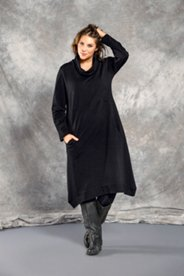 Rollneck Organic Cotton Knit Dress