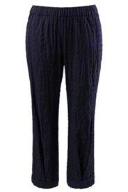 Eco Cotton Textured Pants