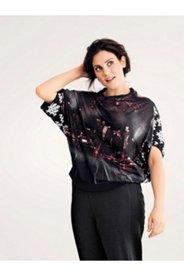 Skyline Print Pullover Knit Kimono