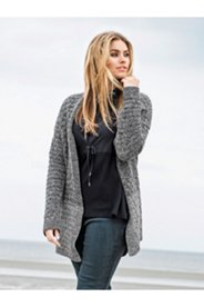 Two Tone Cardigan Sweater