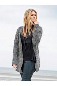 Two Tone Cardigan Sweater