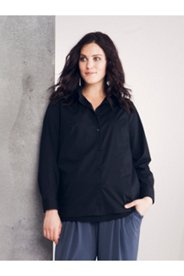 Pleated Back Blouse