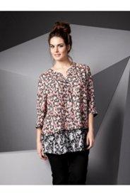 2 Print Floral Blouse