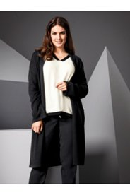 Long Patch Pocket Cardigan Sweater