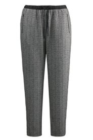 Herringbone Pull-on Pants