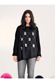 Jewel Square Design Blouse