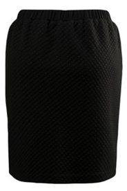 Diamond Texture Knit Skirt