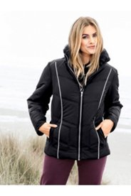 Contrast Trim Zip Jacket