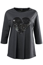 Broken Heart Sequin Tee