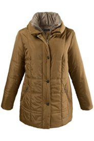 Double Collar Quilted Jacket
