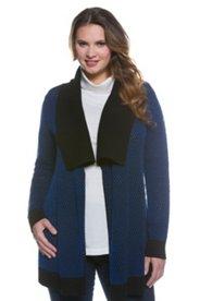 Cheveron Stripe Cardigan Sweater