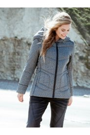 Texture Print Quilted Jacket
