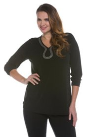 Elegant Beads Knit Top