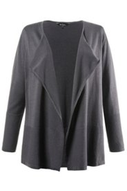 Notch Collar Cardigan Sweater