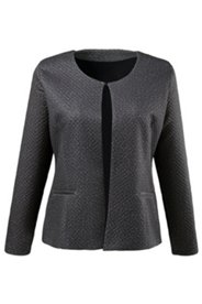 Textured Diamond Jacket