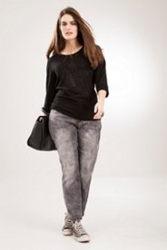 Skinny Watermark Design Jeans