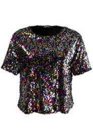 All Over Sequin Knit Top