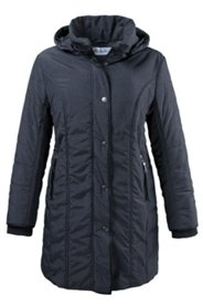 Princess Seam Quilted Jacket