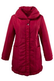 Shawl Collar Quilted Jacket