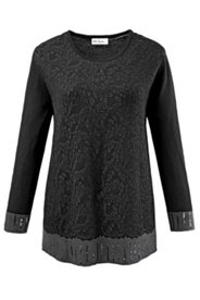 Trim Specialty Knit Sweater