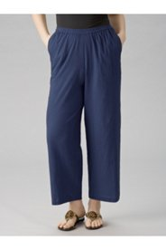 Shorter-length Tropi-cool Cotton Gauze Pants