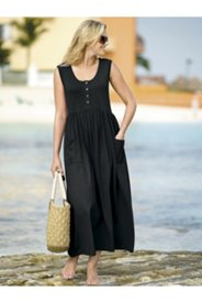 Patch Pocket Knit Tank Dress