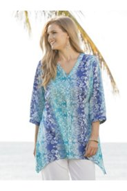 Ulla-timate Prints Sharkbite Tunic