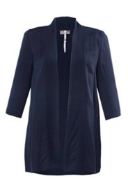 Rayon Jersey Open Front Jacket