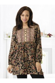 Chelsea Garden Embroidered Tunic
