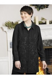 Pamela's Portrait Embroidered Blouse