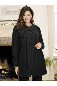 Contessa Knit Velvet Tunic