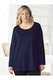 Long Sleeve Round Neck Tee