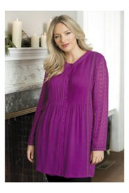 Lacy Ribbons Babydoll Tunic