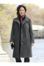 Three-quarter Swing Coat