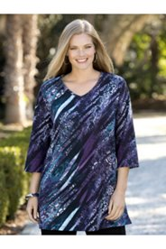 Twilight Zebras Knit Tunic
