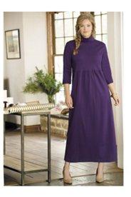 Meghan Turtleneck Empire Knit Dress