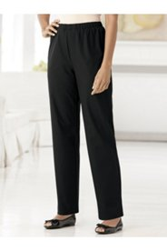 Stretch Slim-fit Nylon Pants