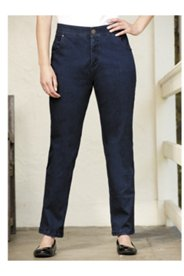 Ul-la-la Comfort-waist Straight-leg Jeans