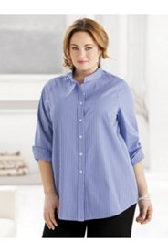 Iron-free Mandarin Collar Shirt