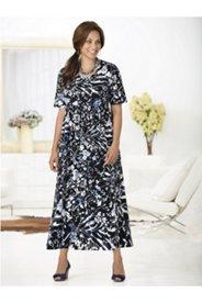 Artist's Floral Knit Dress