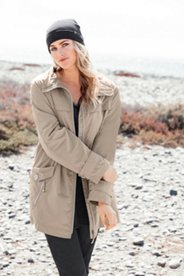 Silky Zip Front Jacket
