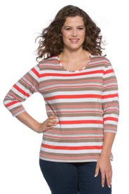 Bright Striped Tee