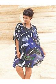 Zebra & Floral Kimono Style Cover-up