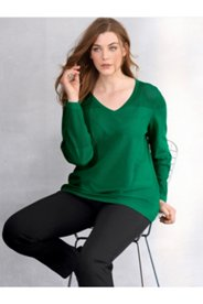 Mix Knit V-Neck Sweater