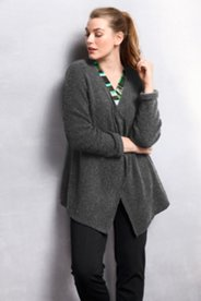 Bouclé Sweater Knit Jacket